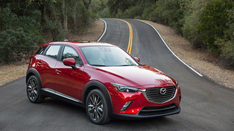 Subtle Changes to the Mazda CX-3