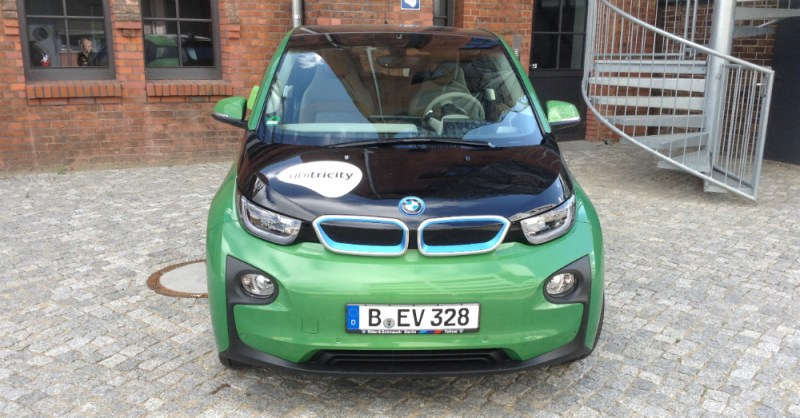 BMW i3 REx Front View