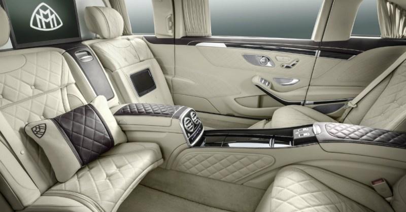 Mercedes-Maybach Pullman Interior