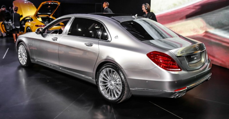 New 2016 Mercedes-Maybach S600