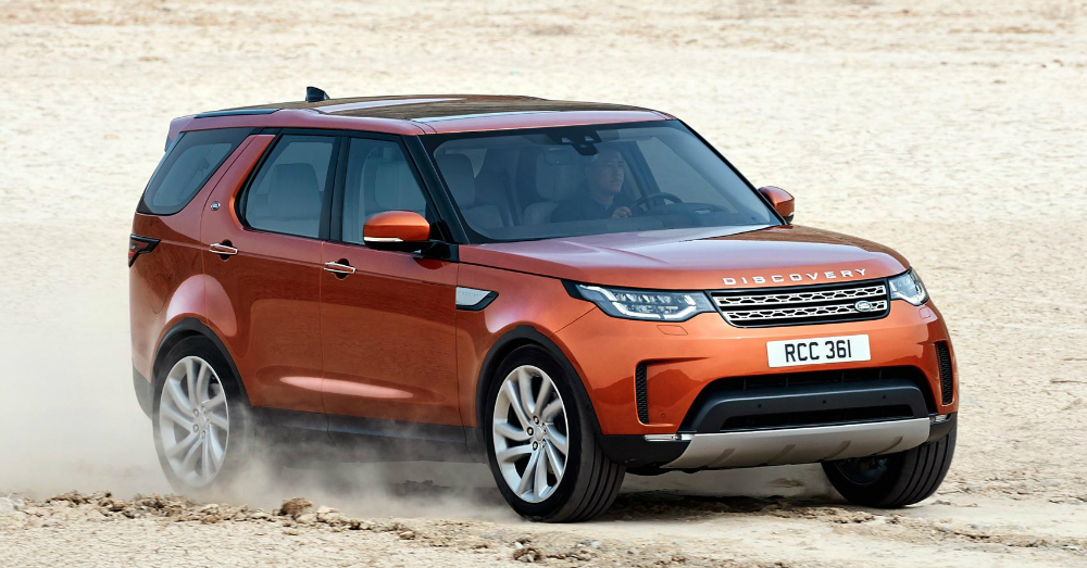 04.07.17 - Land Rover Discovery