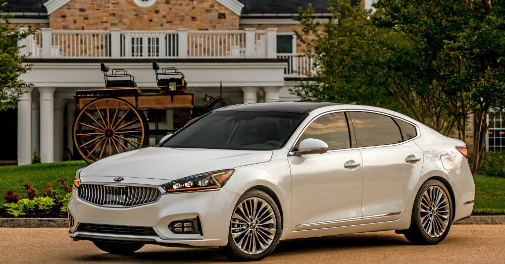 2018 Kia Cadenza True Luxury from Kia