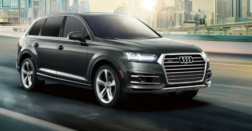 2019 Audi Q7 Positioned Subtly at the Top