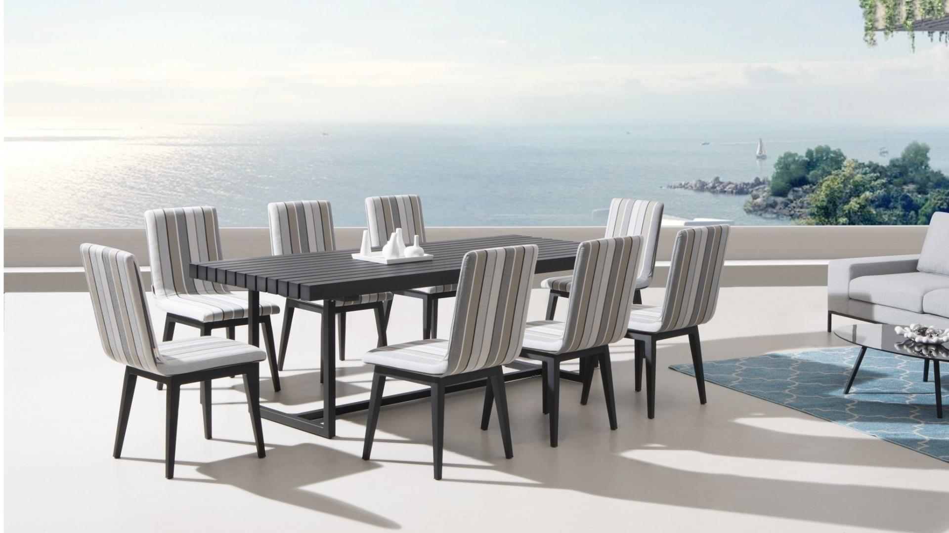16 Seater Dining Table Elite 9 Piece Outdoor Aluminium Dining Set With Kroes