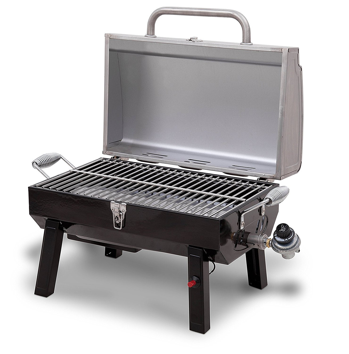 Broil Gasgrill Char Broil Stainless Steel Portable Gas Grill Only 39 44 Shipped