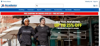 45% Off Academy Sports + Outdoors Coupon Codes 2018 ...