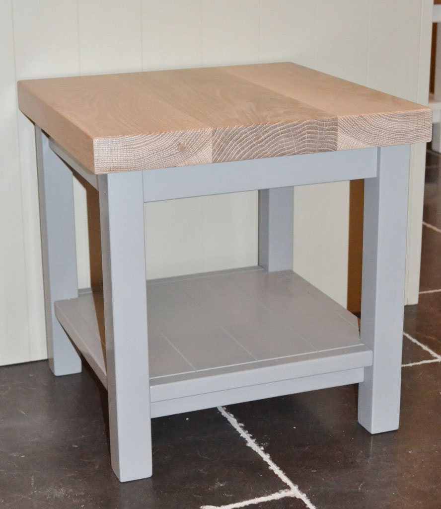 Deanery Small Coffee Table With Oak Top And Hand Painted Finish Deanery Furniture