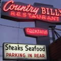 Country Bill's sign