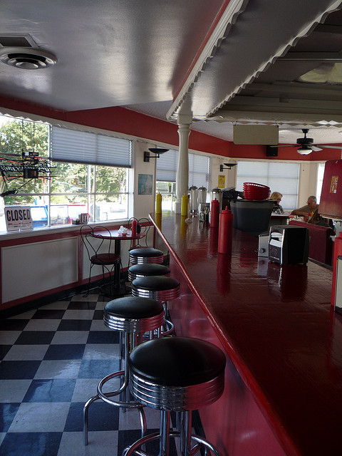 Inside Papoo's - photo by Carrie Swing on Flickr