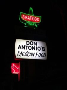 Don Antonio's restaurant, Los Angeles
