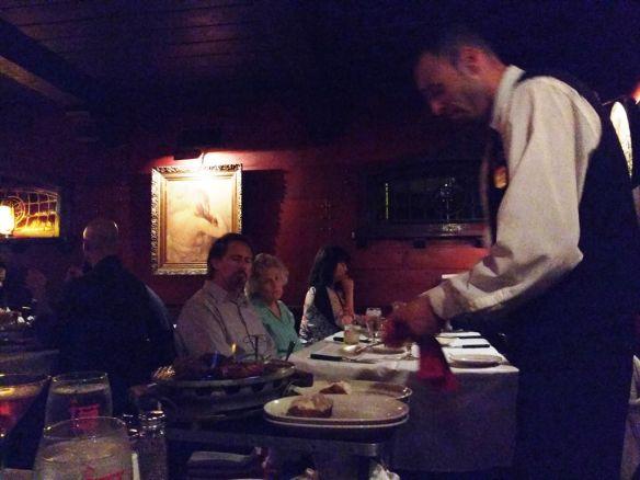 Clearman's Steak 'n Stein waiter