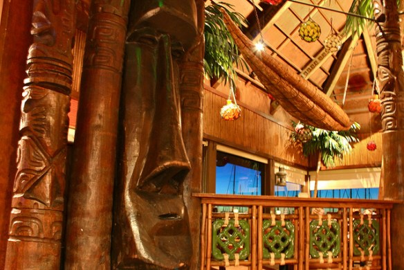 tikis, Trader Vic's Emeryville via K on Flickr