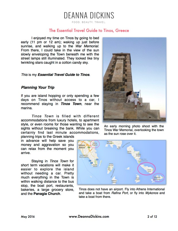 The Essential Guide to Tinos 2