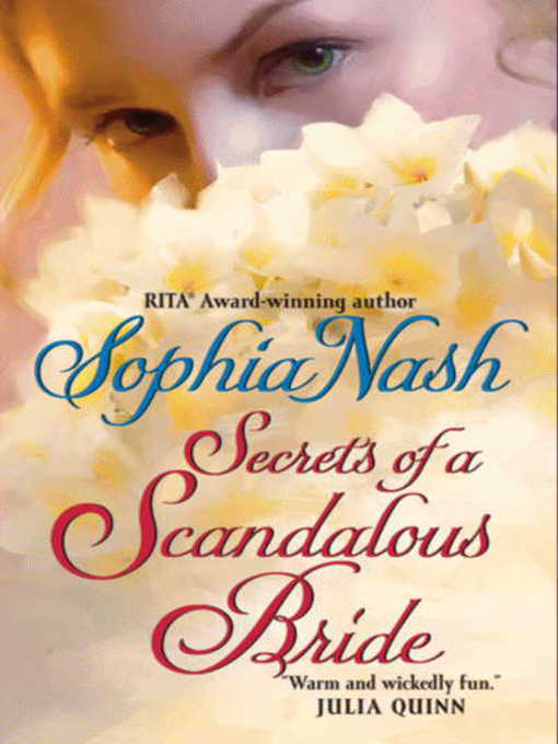 Cover image for Secrets of a Scandalous Bride by Sophia Nash