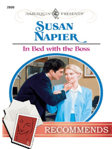 Review in bed with the boss by susan napier dear author for Bed boss reviews