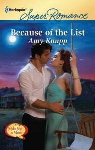 Because of the List Amy knupp