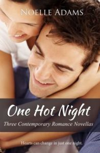 One Hot Night: Three Contemporary Romance Novellas  by     Noelle Adams