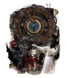 Another re-imagining of Poe: Zdenko Basic and Manuel Sumberac illustrate POE: STEAMPUNK