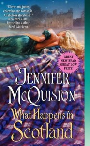 What Happens in Scotland by Jennifer McQuiston