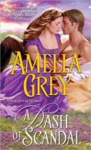 Dash of Scandal by Amelia Grey