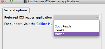 iOS Reading App Customize