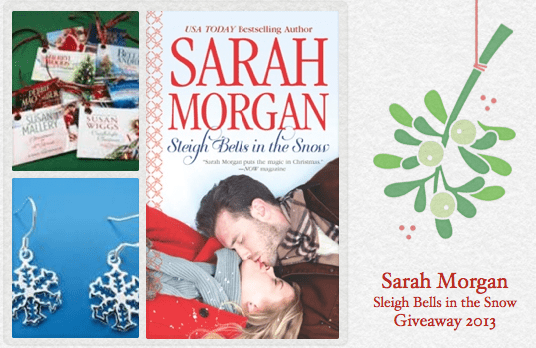 sleigh bell in the snow giveaway