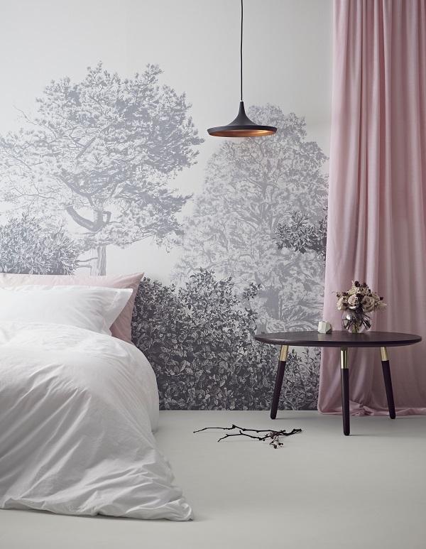 3d Floor Wallpaper Murals The New Hua Trees Wall Murals From Sian Zeng