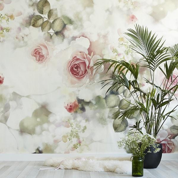 Rose Petals Falling Wallpaper The New Incandescent Rose Wallpaper From Ellie Cashman