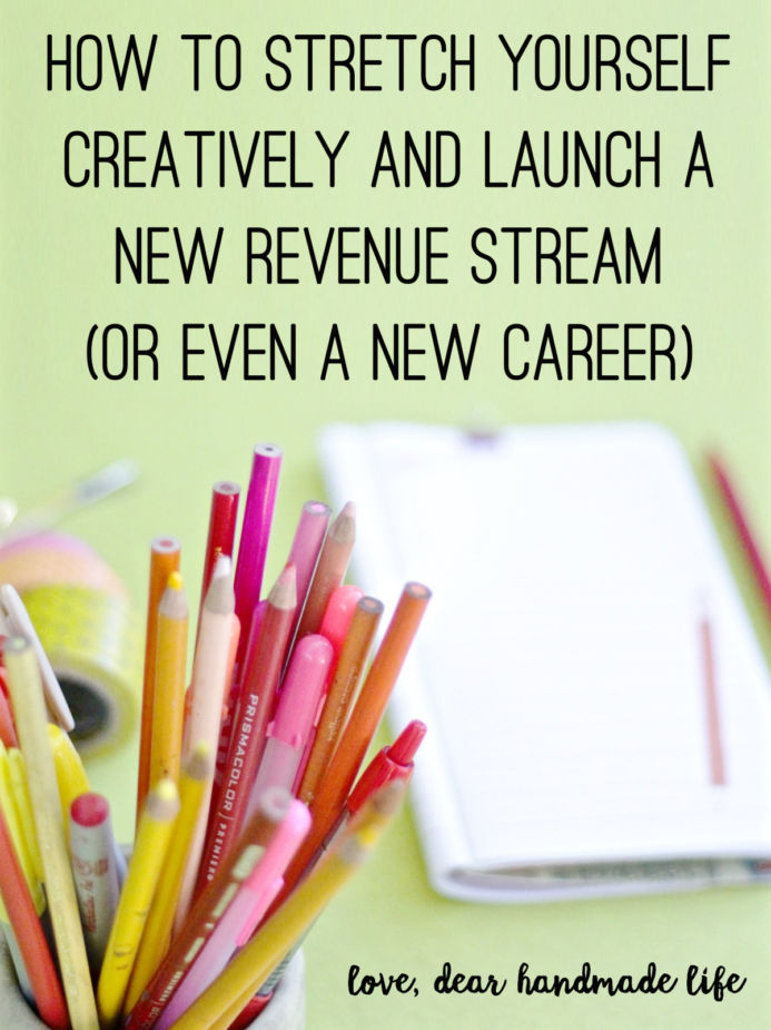 How to stretch yourself creatively and launch a new revenue stream - life career