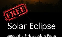 FREE solar eclipse lapbook
