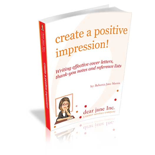 Create a Positive Impression e-doc dear jane