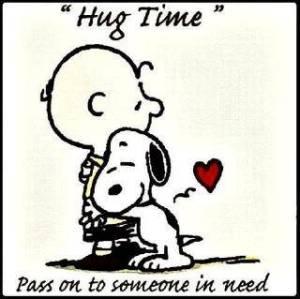 Hug-time-snoopy