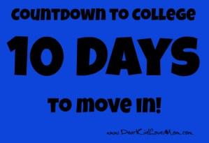 countdown to move in
