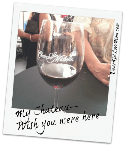 #mychateau Wish you were here DearKidLoveMom.com
