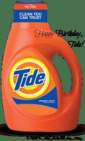 Happy Birthday Tide