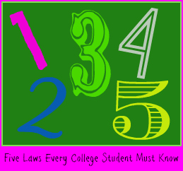 Five Rules Every College Student Must Know DearKidLoveMom.com