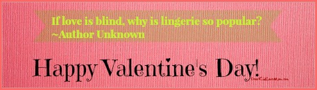 If love is blind, why is lingerie so popular. Things you should probably know about Valentine's Day. DearKidLoveMom.com