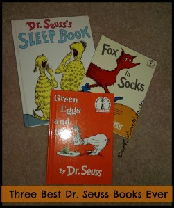 Three Best Dr. Seuss Books Ever