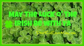 Luck o' the Irish and other Irish Sayings DearKidLoveMom.com