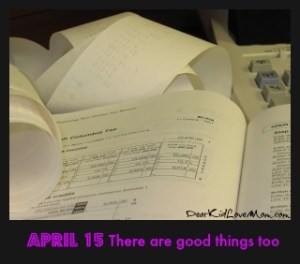 April 15: It's just that sort of day