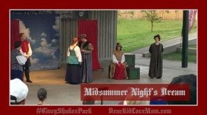 Midsummer Night's Dream #CincyShakes DearKidLoveMom.com