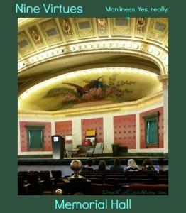 Cincinnati's Memorial Hall #AmazeLing DearKidLoveMom.com