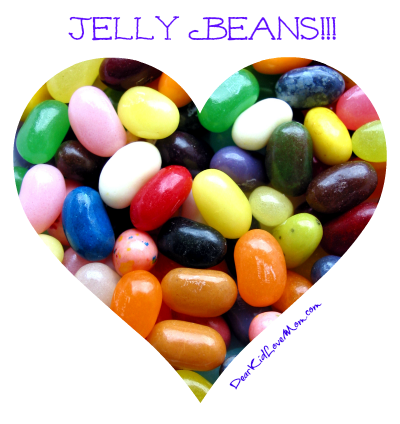 Jelly Beans!!! DearKidLoveMom.com
