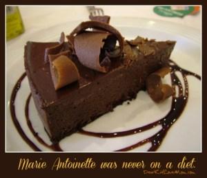 Marie Antoinette was never on a diet. DearKidLoveMom.com