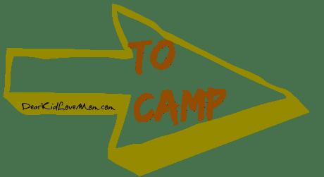 Helping Kids Pack for Camp. DearKidLoveMom.com