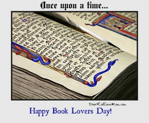 Read! Everyone should celebrate books every day. DearKidLoveMom.com