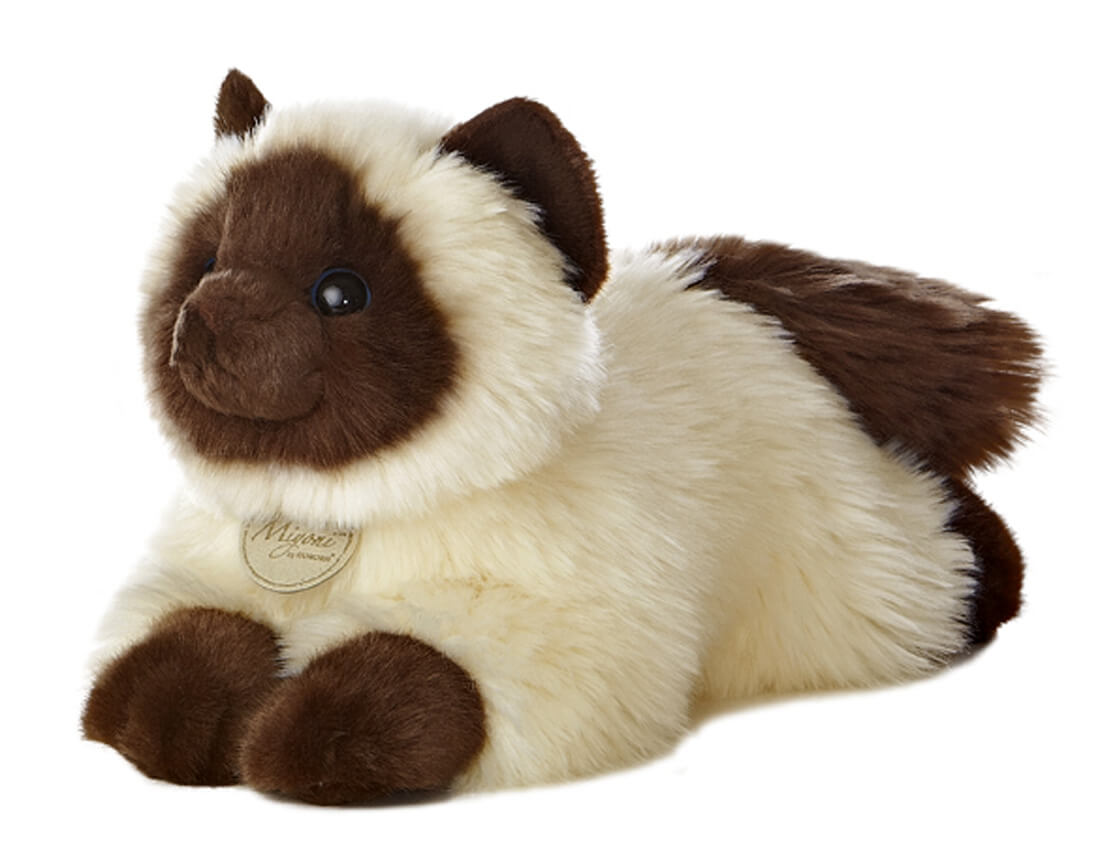 Cat Plush Toy Himalayan Cat