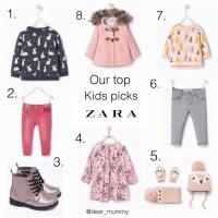 Zara Kids Girls AW15