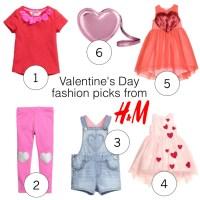 Valentine's Fashion Picks from H&M Kids