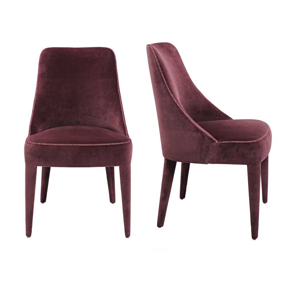 Artistic Dining Chairs Collette Chair Deaurora Showroom